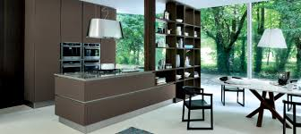 Plan Set Open Plan Kitchen Set In Modern Design With Dining Table Set And