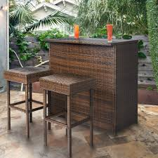 Patio Umbrella Side Table by Patio Tables U0026 Bars Walmart Com