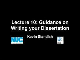 Skills for Learning Writing your dissertation   University of Salford