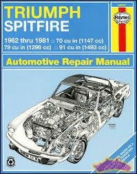 triumph spitfire shop service manuals at books4cars com