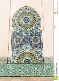 Deco Mur Exterieur Mur Extérieur Avec La Décoration De Mosaïque Photo Stock Image