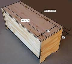 Wooden Bench Plans To Build by Best 25 Storage Benches Ideas On Pinterest Diy Bench Benches