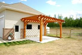 Small Pergola Kits by Exterior Design Pergola Plans With White Top And Tan Prop