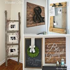 Home Decor Diy Ideas 31 Rustic Diy Home Decor Projects Refresh Restyle