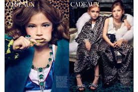 Niños menores de 10 años sueñan con ser modelos