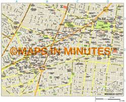 Mexico Cities Map by Royalty Free Mexico City Illustrator Vector Format City Map
