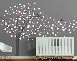 Tree Decal For Nursery Wall by Wall Stickers Australia Nursery Kids Wall Decals Removable Vinyl
