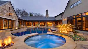 house plans with central courtyard pool youtube
