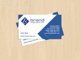 Business Card Eps Template Diamond Business Card Template With Logo By Thomas Polk In Print