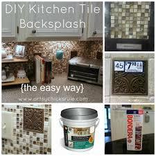 diy kitchen backsplash install
