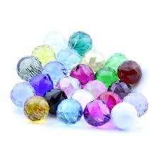 couleur feng shui boule de cristal u0026agrave facettes couleur achetez des lots à