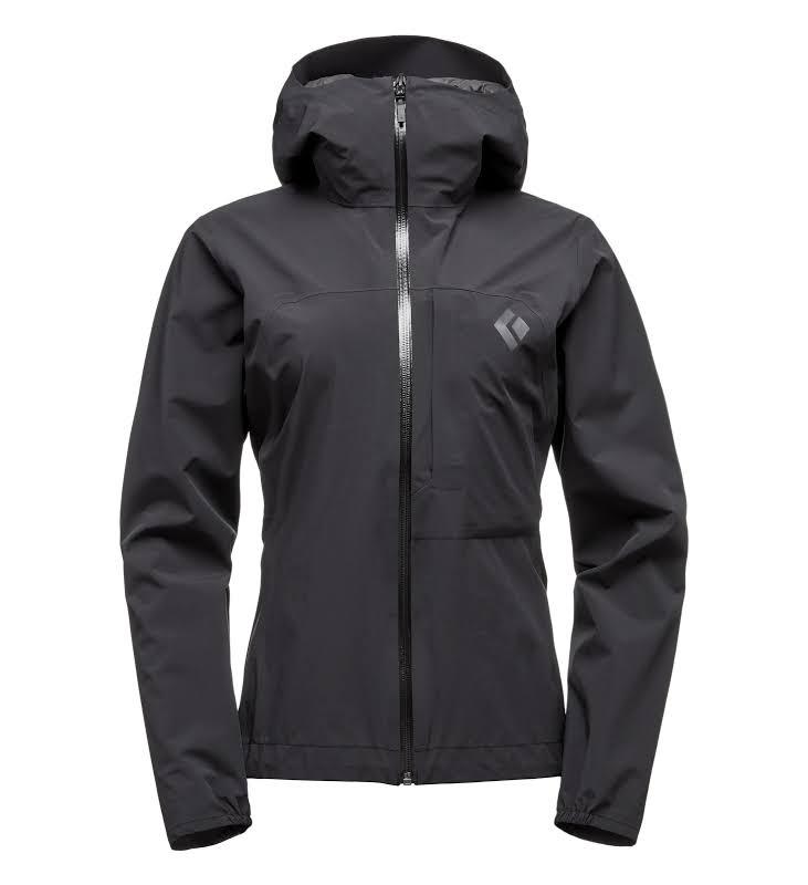 Black Diamond FineLineStretch Rain Shell Jacket Black 2XS APG3E8015XXS1