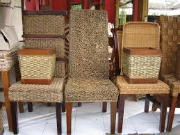wicker dining chairs indoor best wicker dining chairs ideas