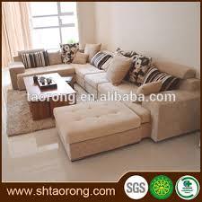 Contemporary New Model L Shape Fabric Sofa Set Designs Trso - Fabric sofa designs