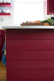 give your kitchen island an architectural look with a shiplap