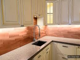 copper kitchen backsplash copper subway tile backsplash copper