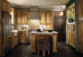 Old Wooden Kitchen Cabinets Kitchen Wonderful Home Interior Mahogany U Shape Wooden Kitchen