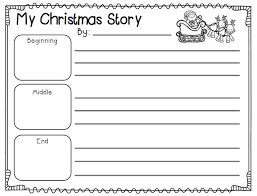 Christmas story writing paper teaching pinterest coloring