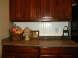 brown beadboard kitchen backsplash with rattan furniture 5068