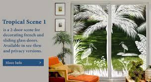 stained glass door film tropical door and window film wallpaper for windows