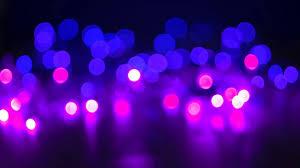 beautiful glamour bokeh of defocused christmas lights in shades of