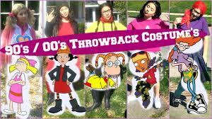 Super Last Minute Cute Diy 90 U0027s Costume U0027s Biancashervonne Youtube