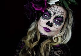 dead makeup halloween sugar skull makeup youtube