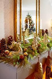 interior christmas trees decorations christmas mantel decor