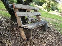 Build Wood Garden Bench by How To Build Simple Garden Benches For Free Flea Market Gardening
