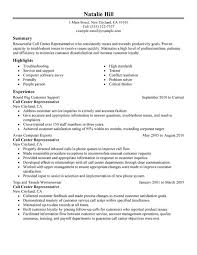 Resumes For Jobs Examples by Unforgettable Call Center Representative Resume Examples To Stand