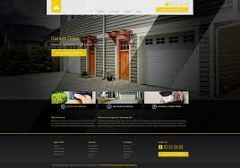 website designs for garage door repair mobile responsive templates design