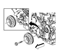 repair instructions off vehicle crankshaft balancer