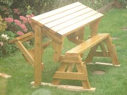 Wooden Folding Picnic Table Plans by The Diyers Photos Folding Bench And Picnic Table Combo Project