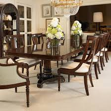 H Double Pedestal Dining Table - Century dining room tables