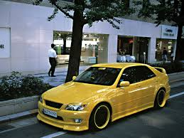 lexus is300 performance upgrades yellow toyota altezza cars pinterest toyota cars and lexus
