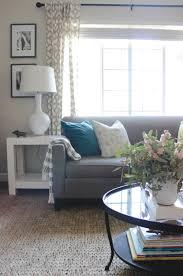 living room update jute rug addition addiction u2014 chic little house