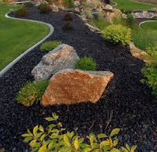 River Rock Design Ideas Design Ideas - Backyard river design