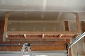 Build Wood Garage Shelves by How To Build Garage Storage Shelves On The Cheap Garage Storage