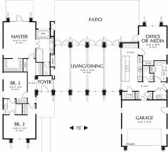 Contemporary Style House Plans Modern Style House Plan 3 Beds 2 5 Baths 2557 Sq Ft Plan 48 476
