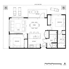 Vdara Panoramic Suite Floor Plan Aria 2 Bedroom Suite