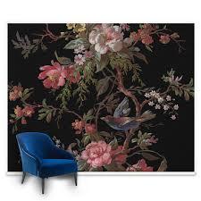 wall murals featured mural wallpaper graham brown venetian floral mural large