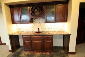 wet bar with natural stone backsplash u2013 jobelius floor covering