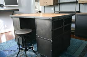 buy a handmade kitchen island work station vintage industrial
