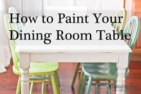 dining table chairs makeover with annie sloan chalk paint painted