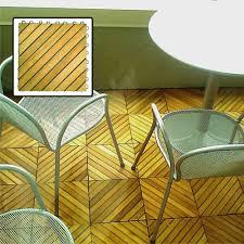 amazon com vifah v368 acacia hardwood 12 slat deck tiles 10