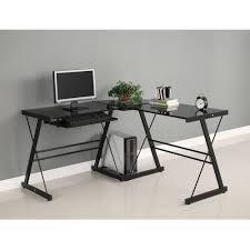 Computer Desks Black by Black Corner Computer Desk Steel Black Corner Computer Desk