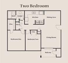 Two Bedroom Apartment Floor Plans 2 Bedroom Layout Design Floor Plan Two Bedroom Apartment