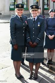Carol Vorderman and Air Commodore Dawn McCafferty as she arrives for the   th Anniversary of the Pinterest