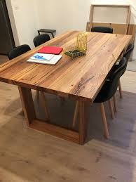 Round Timber Dining Table Ebizby Design - Timber kitchen table