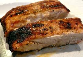 grilled boneless country style pork ribs with carolina rub 101